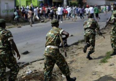 Ciidamo ka tirsan Burundi oo maanta toogasho loogu geystay Shabeellaha Dhexe & Wararkii ugu…
