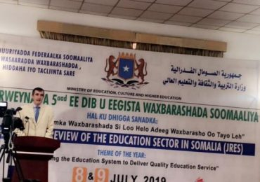 Somalia's education stakeholders meet to jointly review the sector's progress