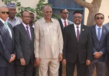 Somali parliament speaker launches development projects in Hudur