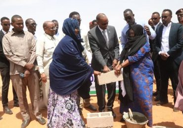 Somali PM laid foundation for Galkayo peace centre