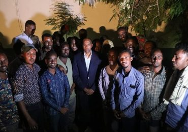 Somali PM meets Galkayo youth on the future of Galmudug