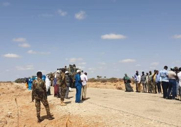 AMISOM troops arrive in Dhusamareb to secure upcoming reconciliation conference