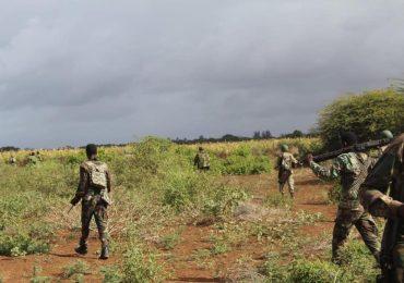 Ciidamada DF Somaliya oo dagaal kula wareegay deegaanno ka tirsan Jubbooyinka