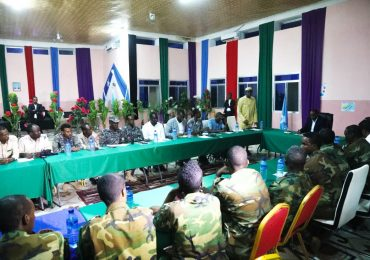 Somali Prime Minister chairs Galmudug security meeting