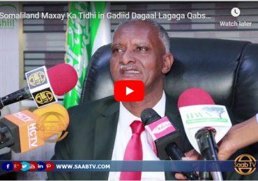 DAAWO VIDEO: Maxay Somaliland ka tidhi in Gaadiid dagaal looga qabsaday dagaalkii Hadaaftimo &  Wasiirka Cadaalada Somaliland oo..