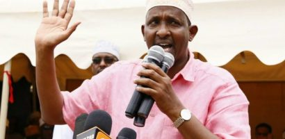 Aden Duale under fire for distributing expired food
