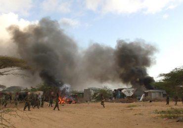 DAAWO SAWIRRO: Al-Shabaab oo soo bandhigay weerarkii xerada Ceel-Saliini & saanado ay ka qaateen xeradaas
