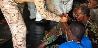Operation ATALANTA Assists Somali Navy Personnel Stranded off the Coast of Cadale