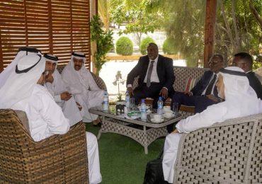 DAAWO SAWIRO: Madaxda Hirshabeelle iyo Koofur Galbeed oo kulan la qaatay Wafi ka socda Dawladda Qatar
