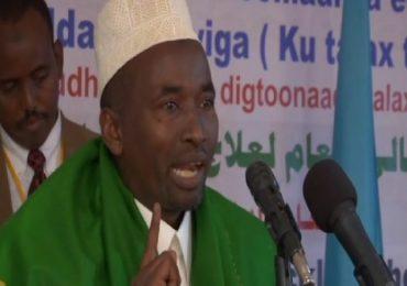 Sheekh Soomow oo ku baaqay in maxkamad la soo taago Taliyaha Booliska Somaliya +(SABABTA)