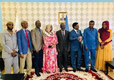 Djibouti national assembly speaker arrives in Mogadishu
