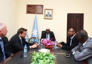 Danjireyaasha Jarmalka & Sweden iyo Mas'uuliyiin Ka Tirsan Villa Somalia Oo Kulmay