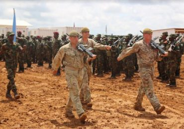Over one hundred SNA soldiers conclude two-month training in Baidoa