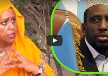DAAWO VIDEO: Xildhibaan Fowsiya Yuusuf oo si aan laga fileyn uga hashay hanjabaadii Sheekh Shariif
