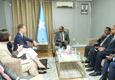 Somali Prime Minister held talks with Danish Foreign Minister