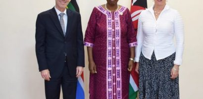 Kenyan Foreign Affair Meets UN Envoy for Somalia and head of UNSOS