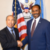Somali Finance meets US ambassador in Mogadishu