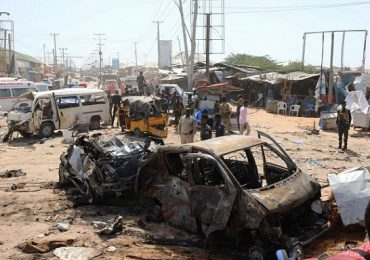 Two Somali soldiers killed in MOGADISHU blast