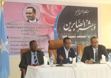 Somalia holds memorial service for late diplomat