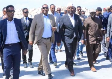 DAAWO SAWIRRO: Muxuu madaxweynaha Jubbaland ku soo arkay dekedda magaalada Boosaaso ee uu booqday?