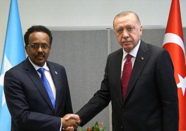 Madaxweyne Erdogan: DF Soomaaliya waxaan ka helnay casuumaad shidaal baarista Soomaaliya.