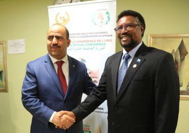Guddoomiyaha Baarlamaanka JF Somaliya 'Mursal' oo dhiggiisa dalka Algeria la kulmay +(SAWIRRO)