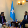 FM receives head of WHO mission in Somalia