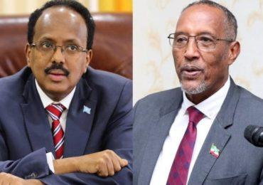 President Farmajo meets Somaliland leader – Villa somalia