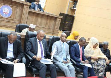 DAAWO SAWIRRO: Golaha Aqalka sare ee BF Somaliya oo maanta Ansixiyay Hindise Sharciyeed muhiim ah