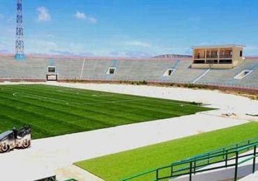 Daawo Sawirrada: Dhismaha garoonka Stadium Muqdisho oo meel gaba-gabo maraya & qaab casri ah oo…