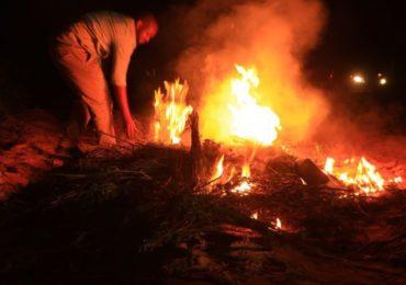 Puntland: Qaad si qarsoodi ah lagu soo geliyay Boosaaso oo la gubay