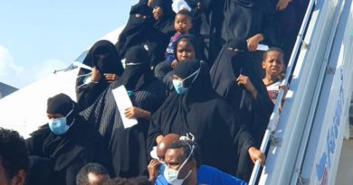 Somalia repatriates 125 citizens stranded in Saudi Arabia